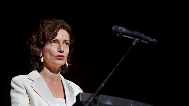 La directora general de la Unesco, Audrey Azoulay. EFE/ Yander Zamora/Archivo