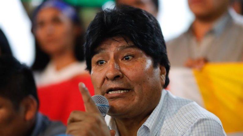En la imagen, el expresidente de Bolivia Evo Morales. EFE/Juan Ignacio Roncoroni/Archivo
