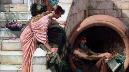 Diógenes y la búsqueda de la verdad