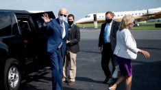 Biden visita a Kenosha e intenta presentarse como una figura unificadora