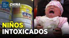 China al Descubierto: Niños con problemas de salud por consumir leche contaminada