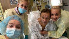Alexéi Navalni es dado de alta y médicos ven posible su total recuperación