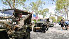 La marine de EE.UU. más anciana celebra su cumpleaños 107 en su casa de Carolina del Norte