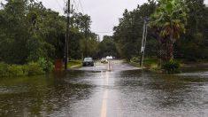 Las dos mayores amenazas de Sally son las inundaciones tierra adentro y la marejada ciclónica