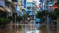 El ciclón mediterráneo Ianós deja dos muertos en Grecia