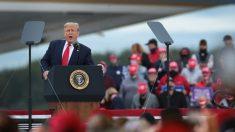"""Trump dice que en 2016 los medios publicaron """"encuestas de supresión"""""""