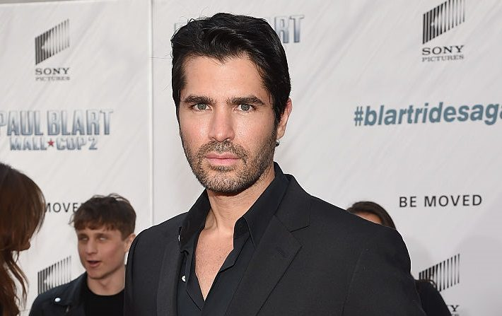 "El actor Eduardo Verastegui asiste al estreno en Nueva York de ""Paul Blart: Mall Cop 2"" en el AMC Loews Lincoln Square el 11 de abril de 2015 en la ciudad de Nueva York. (Mike Coppola/Getty Images)"