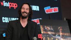 """Keanu Reeves recrea el famoso meme """"Sad Keanu"""" en su nuevo cómic"""