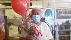 Bisabuela vence al virus del PCCh después de cinco meses de estar en el hospital y en rehabilitación