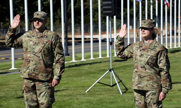 (Fotografía de la Guardia Nacional de Estados Unidos por Joseph Siemandel)