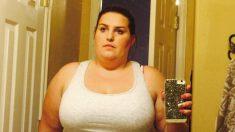 Mujer obesa cumple promesa a su difunto padre al perder más de la mitad de su peso