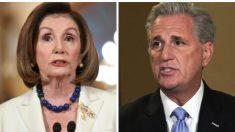 Líder del partido republicano rechaza presión de conservadores para destituir a Nancy Pelosi