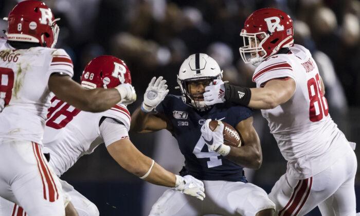 Una foto de archivo muestra un juego entre los Penn State Nittany Lions y los Rutgers Scarlet Knights, en el Beaver Stadium, en State College, Pensilvania, el 30 de noviembre de 2019. (Scott Taetsch/Getty Images).