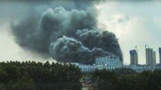 Edificio del laboratorio de Huawei en China se incendia, se reportan 3 muertos