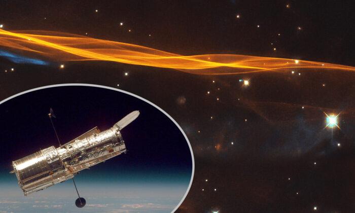 (ESA/Hubble & NASA, W. Blair/Leo Shatz, Inset: NASA via Getty Images)
