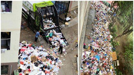 Se viralizan gritos de estudiantes encerrados en campus de universidad china rodeada de basura
