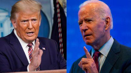 """La campaña de Trump publica """"17 preguntas que Joe Biden debe responder en el debate"""""""