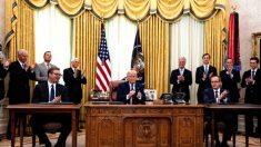 Nominan a Trump para el Premio Nobel de la Paz por el acuerdo Kosovo-Serbia