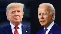 Trump y Biden se enfrentarán en el primer debate