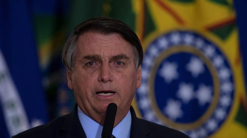 El presidente de Brasil, Jair Bolsonaro. EFE/ Joédson Alves/Archivo