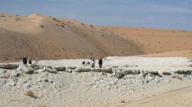 Hallan la evidencia más antigua de humanos en Arabia hace 120,000 años