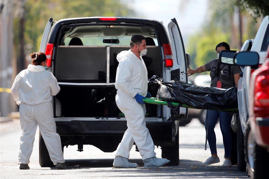 Hallan restos de 59 personas en fosas del estado mexicano de Guanajuato