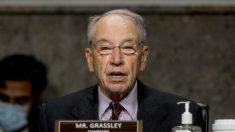 El senador Grassley da positivo por virus del PCCh