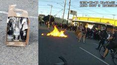 La policía arrestó a 22 personas en disturbios ocurridos el Día del Trabajo en Seattle