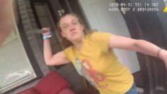 Mujer de Florida apuñala repentinamente a una oficial de policía, quien le dispara y la mata