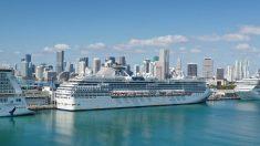 Asociación de Cruceros anuncia test obligatorios a pasajeros y tripulación para reanudar viajes en EEUU