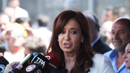 Confirman procesamiento de Cristina Fernández por cartelización de obras