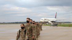 150 soldados de la Guardia Nacional regresan a casa tras un año de movilización en el Medio Oriente