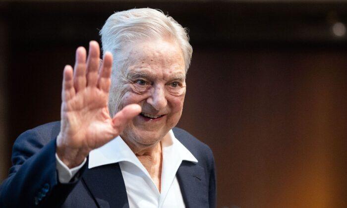 El inversionista estadounidense nacido en Hungría George Soros en Viena, Austria, el 21 de junio de 2019. (Georg Hochmuth/AFP a través de Getty Images).