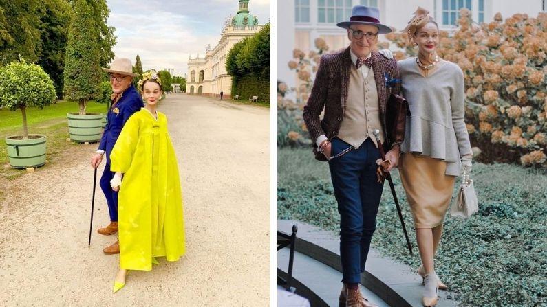 Britt Kanja y Günther Krabbenhöft, unidos por el buen gusto y el amor.(Cortesía: Britt Kanja)