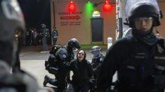 Arrestan a 27 alborotadores en Portland mientras atacaban el edificio del sindicato de la policía