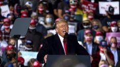 Trump destaca su próxima nominación a la Corte Suprema en mítines de Ohio