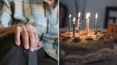 """Abuelo de 92 años realiza su sueño de celebrar su cumpleaños disfrazado del """"Chavo del 8"""""""