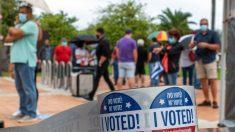 Casi 9 millones de persona han votado ya en Florida