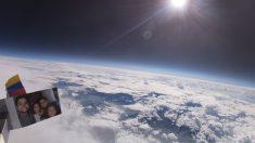 Colombiano captura increíbles imágenes del planeta desde la atmósfera con un globo y una cámara Go Pro