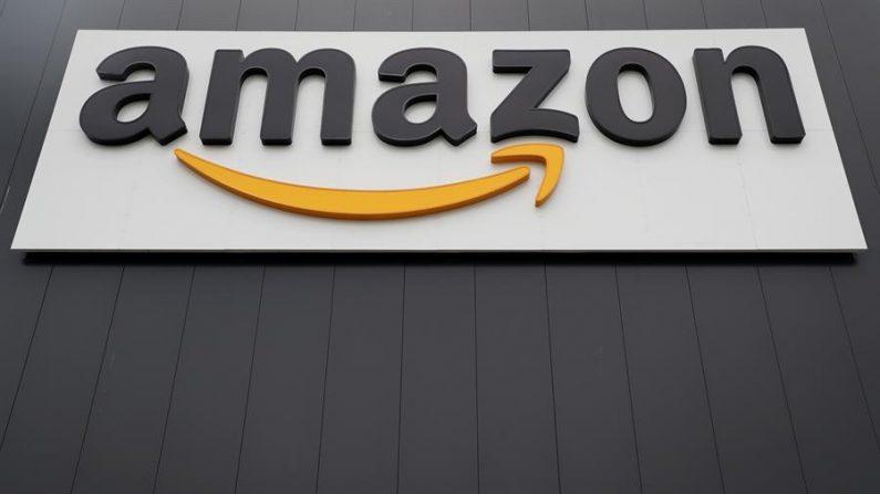 El logotipo del gigante estadounidense de la venta al por menor en línea Amazon. EFE/Friedemann Vogel/Archivo