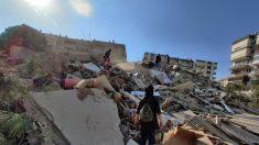 Al menos 4 muertos y 152 heridos en el terremoto en la ciudad turca de Esmirna