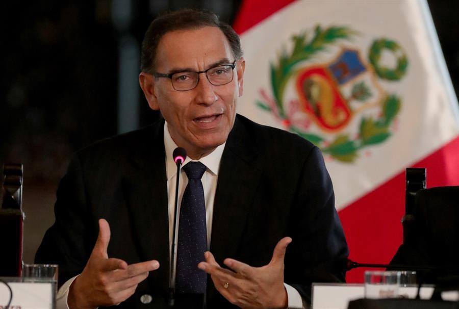Excluyen al expresidente Vizcarra de lista de candidatos al Congreso de Perú