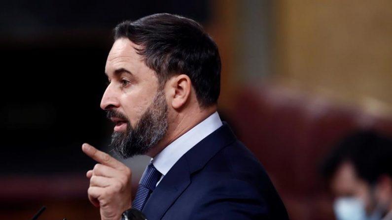 El líder de Vox (España), Santiago Abascal. EFE/Mariscal/Archivo