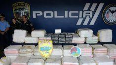 Decomisan 117 kilos de cocaína en una embarcación al suroeste de Puerto Rico