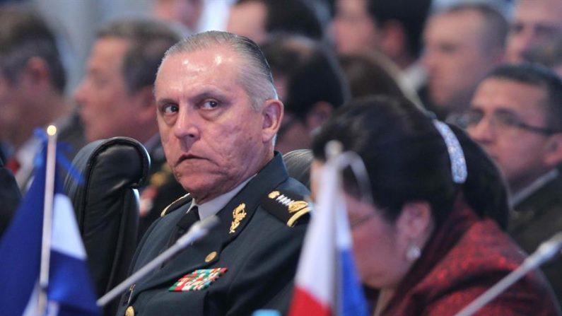 El exministro de Defensa de México, general Salvador Cienfuegos Zepeda. EFE/Paolo Aguilar/Archivo