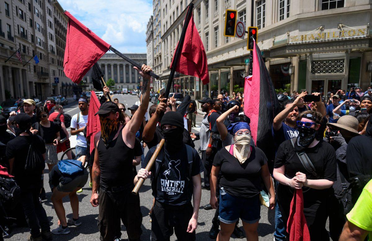 Antifa es una organización peligrosa con estructura similar a célula terrorista islámica, dice portavoz policial