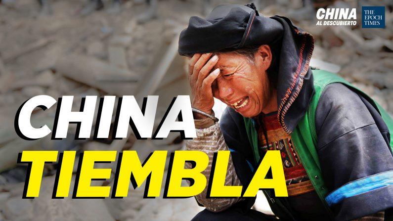 7 sismos en 5 días en China; Escasez de comida tras desastres. (China al Descubierto/The Epoch Times en Español)