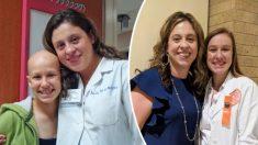 Sobreviviente de linfoma infantil regresa al hospital 10 años después como enfermera de oncología pediátrica