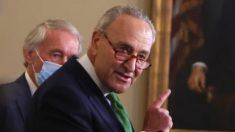 El senador Chuck Schumer pide un plan de pruebas para COVID y rastreo de contactos en el Capitolio