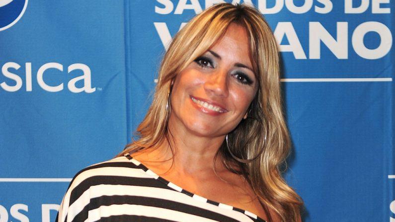 La cantante Melina León, foto tomada el 18 de junio de 2011 en Miami, Florida. (Foto de Gustavo Caballero/Getty Images para Pepsi)